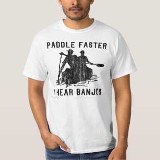 Banjo t shirts shirt designs zazzle for I hear banjos t shirt
