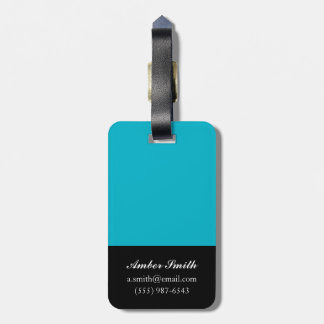 I hear music in the air 2010 luggage tag