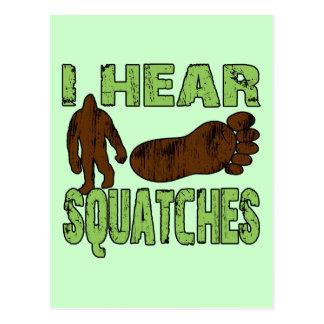 I Hear Squatches Postcards