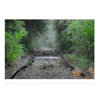 I Hear the Train a Comin Postcard