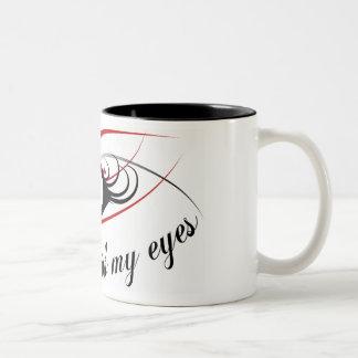 """""""I hear with my eyes"""" mug #3"""