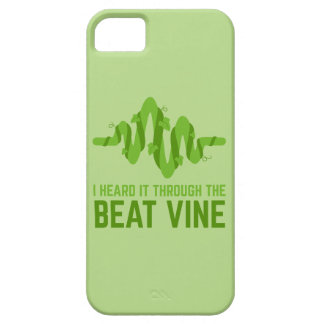 I Heard It Through The Beat Vine iPhone SE/5/5s Case