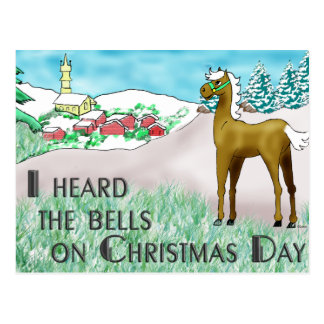 I Heard the Bells on Christmas Day Postcard
