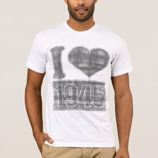 I heart 1945 Vintage #2 T-Shirt