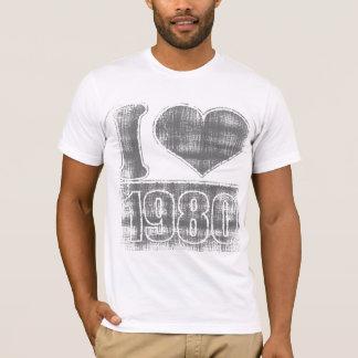 I heart 1980 Vintage #2  T-Shirt
