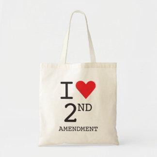 """""""I Heart 2nd Amendment"""" Tote Bag"""