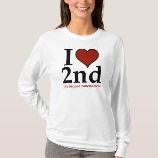 I Heart 2nd (Second Amendment) T-Shirt