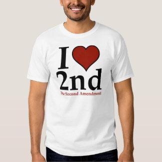 I Heart 2nd (Second Amendment) Tshirts