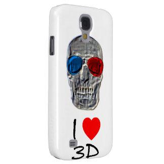 I heart 3D skull cases