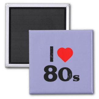 """""""I Heart 80's"""" Fridge Magnet"""