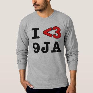 I Heart 9JA.. Nigerian T-Shirt