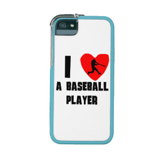 I Heart A Baseball Player iPhone 5/5S Cover