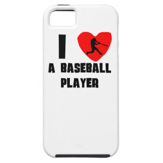 I Heart A Baseball Player iPhone 5 Cases