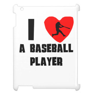 I Heart A Baseball Player Case For The iPad 2 3 4