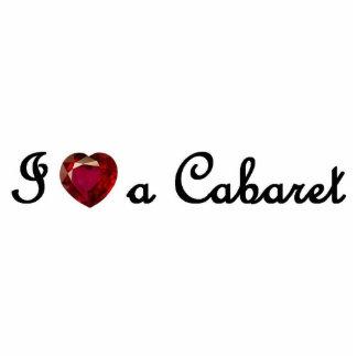 I Heart a Cabaret Ornament