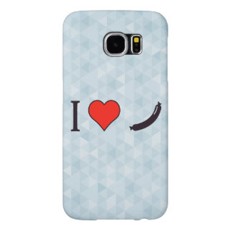 I Heart A Decent Sized Meal Samsung Galaxy S6 Case