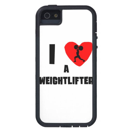 I Heart A Weightlifter iPhone 5 Cover