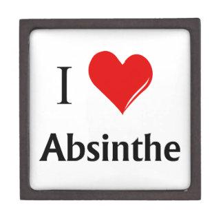 I Heart Absinthe Keepsake Box