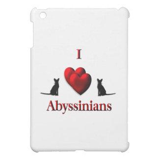 I Heart Abyssinian s iPad Mini Case