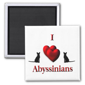 I Heart Abyssinian s Magnets