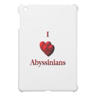 I Heart Abyssinias iPad Mini Covers