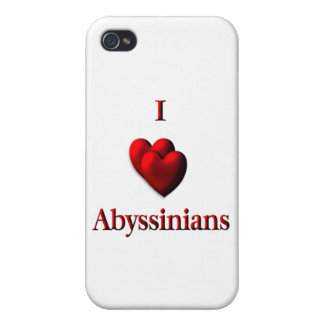 I Heart Abyssinias iPhone 4/4S Case