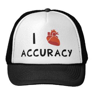 I Heart Accuracy Trucker Hats