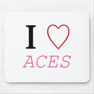 I Heart ACES Mouse Pad