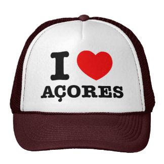 I heart Acores Mesh Hats