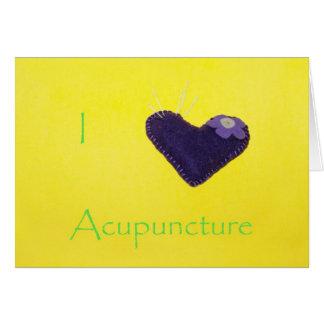 I heart Acupuncture II Card