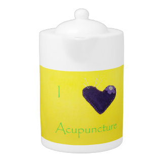 I heart Acupuncture Teapot