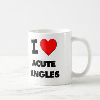 I Heart Acute Angles Coffee Mug
