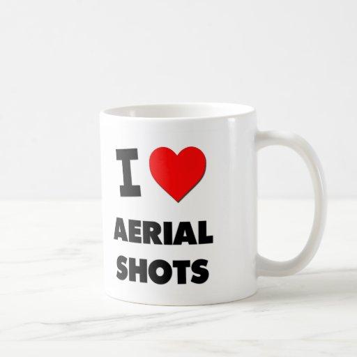 I Heart Aerial Shots Classic White Coffee Mug