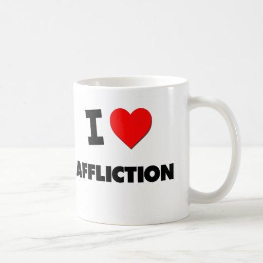 I Heart Affliction Classic White Coffee Mug