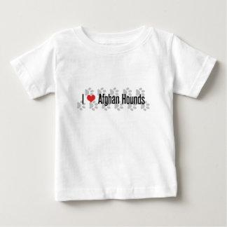 I (heart) Afghan Hounds Baby T-Shirt