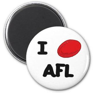 I heart AFL Magnet