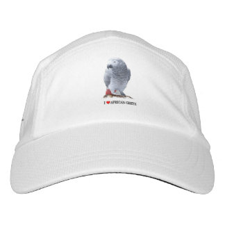 I Heart African Greys Headsweats Hat