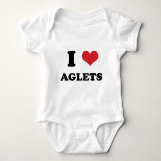 I (heart) Aglets Baby Bodysuit