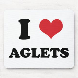 I (heart) Aglets Mouse Pad