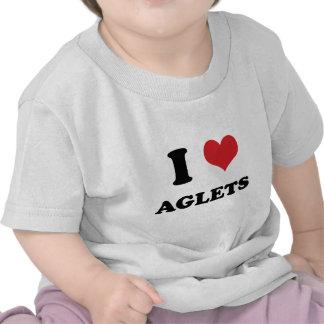 I (heart) Aglets Tee Shirts