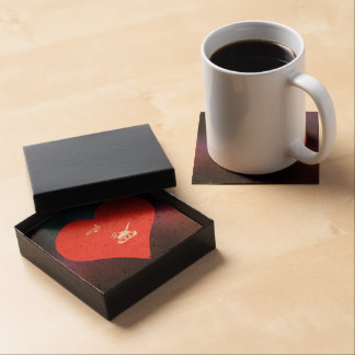 I Heart Air Force Icon Drink Coasters