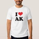 I Heart Ak - Alaska T Shirts