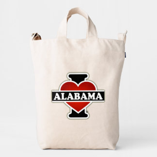 I Heart Alabama Duck Bag