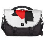 I Heart Alabama Laptop Commuter Bag