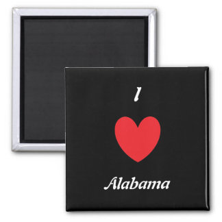 I Heart Alabama Magnet
