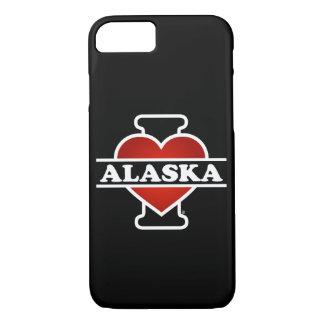 I Heart Alaska iPhone 8/7 Case