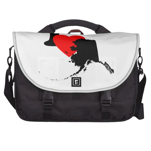 I Heart Alaska Laptop Bags