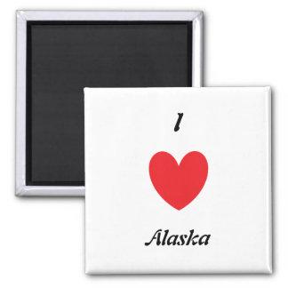 I Heart Alaska Magnet