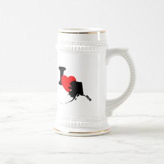 I Heart Alaska Mugs