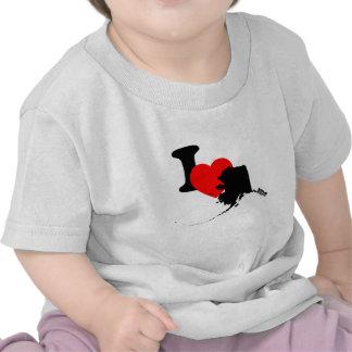 I Heart Alaska Tee Shirt